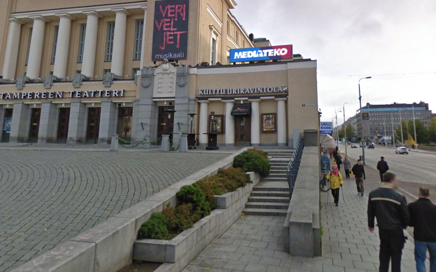 City Digital | Tampereen teatteri | 3 kpl LED-suurtaulua 2